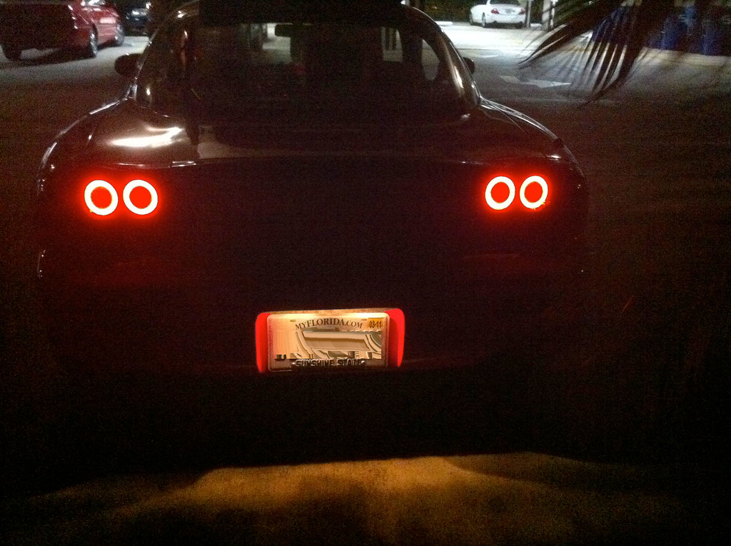 Theorie's SakeBomb Garage LED Tail Lights