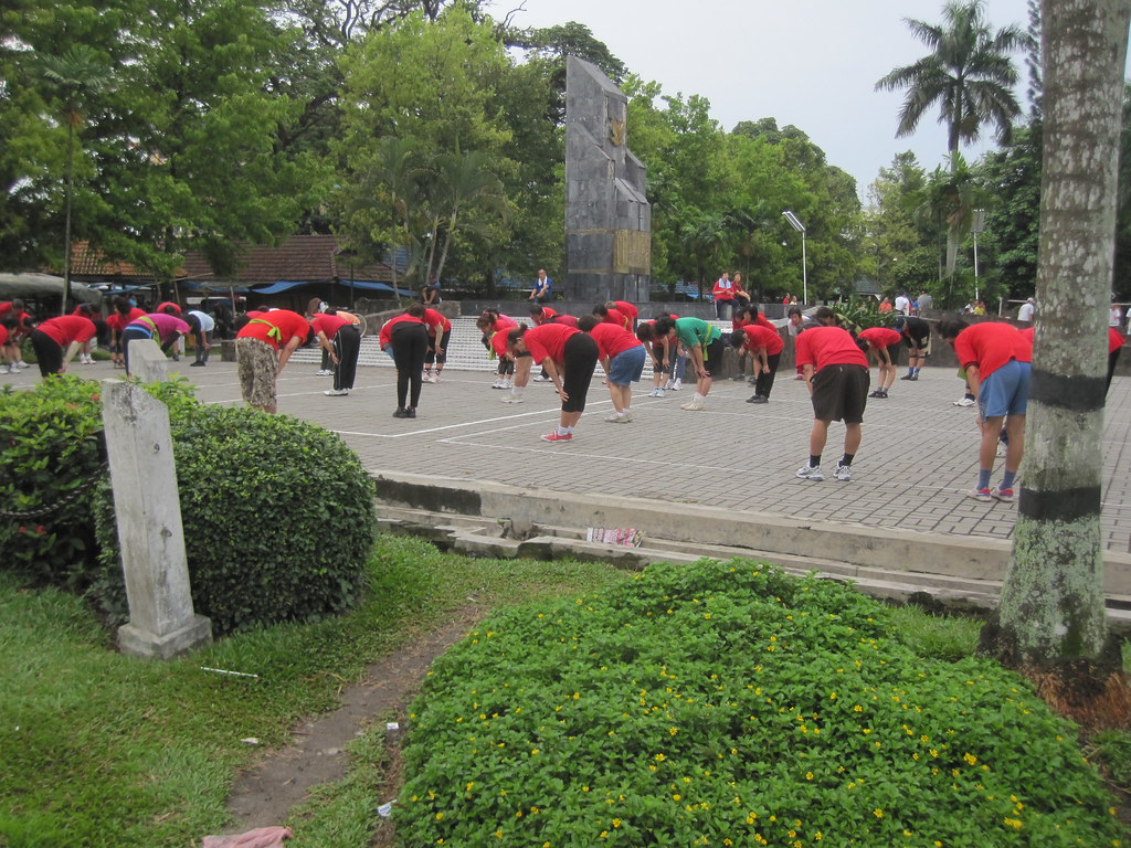 Exercise Class - Medan, Sumatra, Indonesia