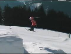 Kelly Sildaru - devítiletá lyžařka z Estonka
