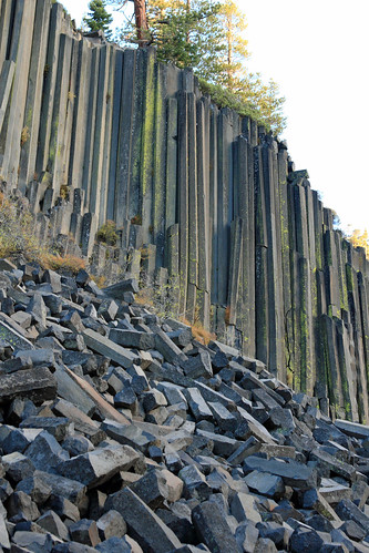 Devils Postpile National Monument near Mammoth Lakes