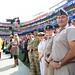 British Service Member Redskins Salute