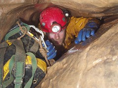 Caving: Priddy Green Sink (04-Nov-2006)