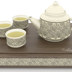 Chinese Tea Set Art Deco 3D Models