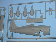Academy 1/72 Grumman F4F-4 Wildcat parts tree