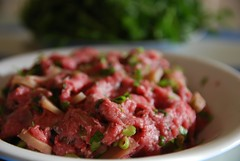 Mixed, raw - Steamed Meatloaf with Salted Turnip,…