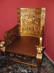 furniture, wood, antique, chair, throne,