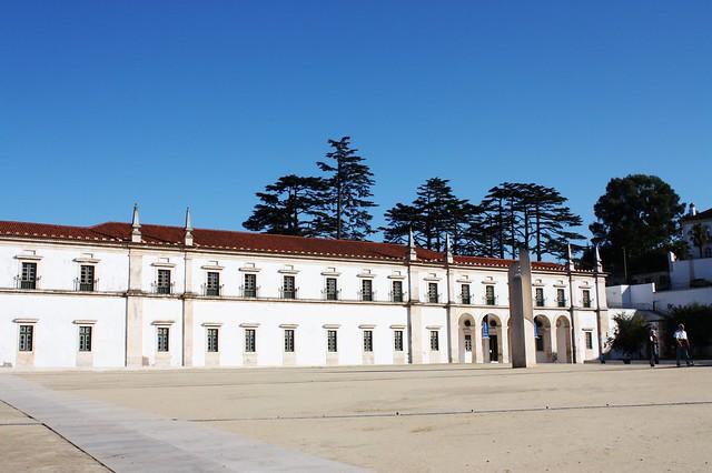 Abadia de Alcobaça,um dos mais importantes mosteiros medievais em Portugal.