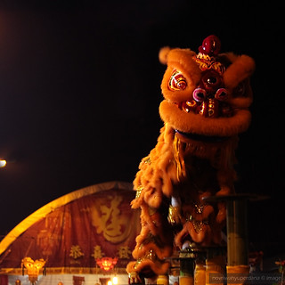 2011 Medan's Imlek Fair | Barongsai Lion