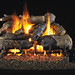 Custom wood burning fireplace designs.