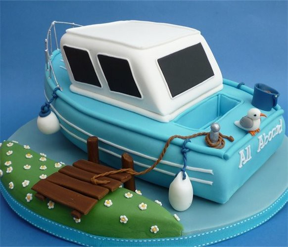 boat birthday cake2 Flickr - Photo Sharing!