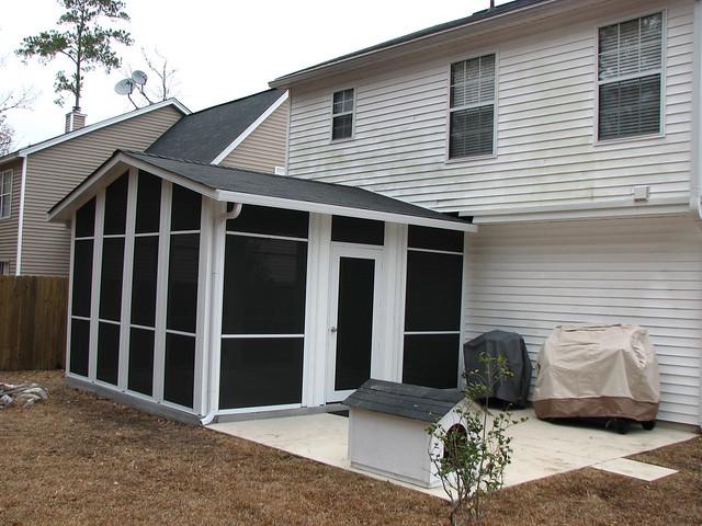 Modular home modular home summerville sc for Prefab screen porch