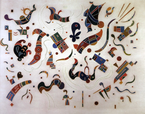 Wassily Kandinsky - Releations at Kreeger Art Museum Washington DC