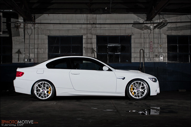e92 BMW M3 on HRE Wheels