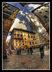 Bilbao and my fisheye, an awesome couple!!