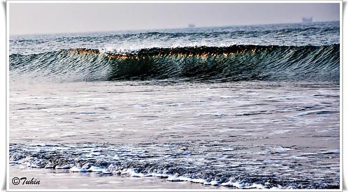 ocean sunset sea sun reflection beach water wave shore bangladesh chittagong bayofbengal coxsbazar