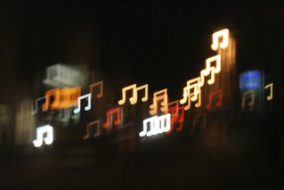 Music Note Bokeh