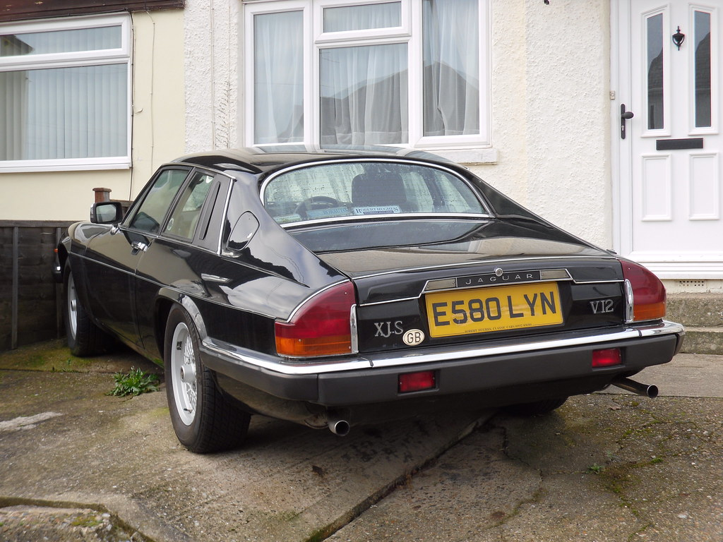 1987 jaguar xjs he v12 coupe.   now this is weird, i spotted…   flickr