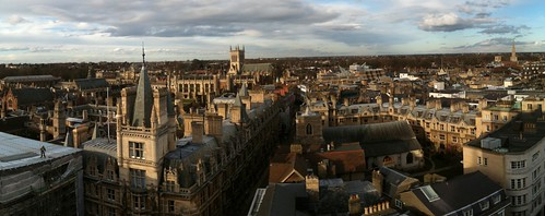 Views of Cambridge from Great St. Mary's