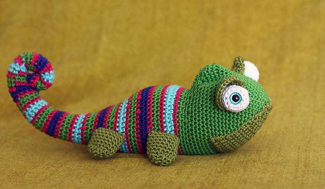 Amigurumi Chameleon : amigurumi chameleon Flickr - Photo Sharing!