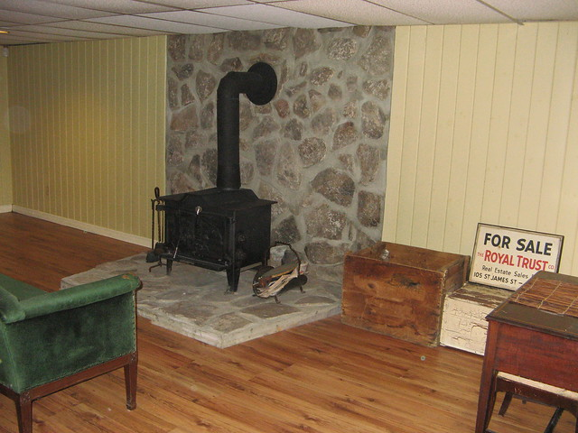 warm wood stove in basement flickr photo sharing