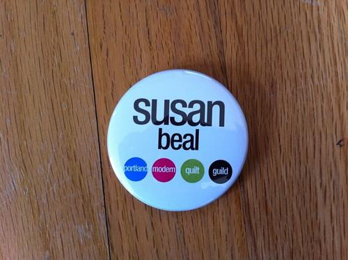 my Portland Modern Quilt Guild name badge <3