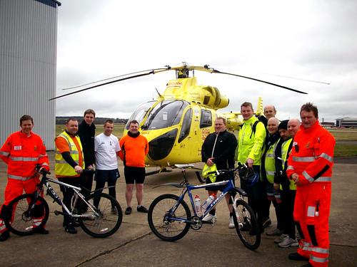 Yorkshire Air Ambulance Photo Shoot