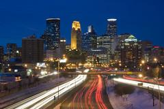 8/52: Minneapolis at Night (part 1) {explored}