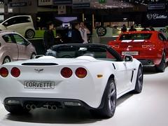 muscle car(0.0), chevrolet(1.0), automobile(1.0), automotive exterior(1.0), vehicle(1.0), automotive design(1.0), auto show(1.0), chevrolet corvette c6 zr1(1.0), land vehicle(1.0), luxury vehicle(1.0), supercar(1.0), sports car(1.0),