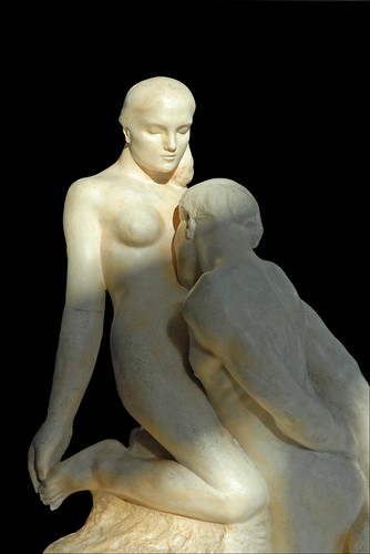 """L'Eternelle Idole"" d'Auguste Rodin (Musée Rodin)"