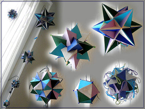 Stellations of icosahedron mobile