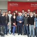 Some UCC Labour members with Michael D Higgins by UCC Labour