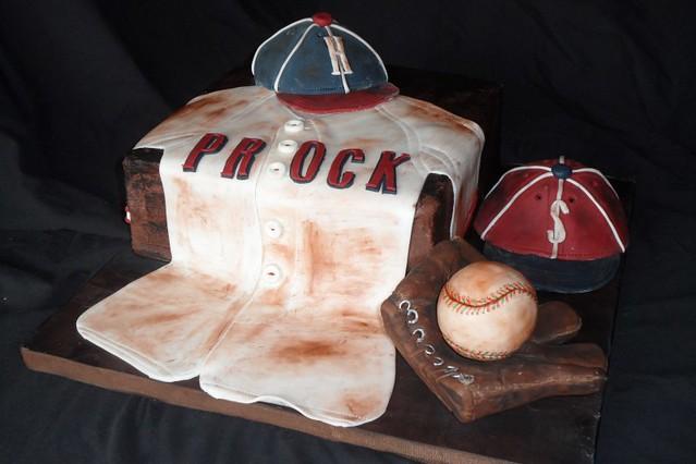 vintage baseball baby shower cake flickr photo sharing