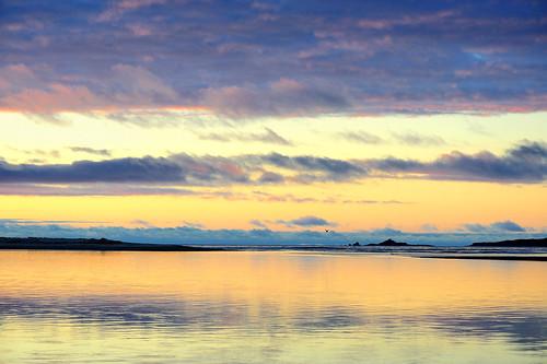 sunset newzealand color reflection river landscape atardecer agua nikon colorful paisaje reflejo westcoast d3 haast sandfly 105mm