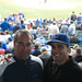 Dan and Dad at Wrigley by DJOtaku