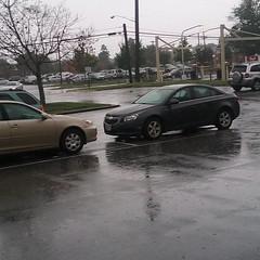 Raindrops Falling Hard