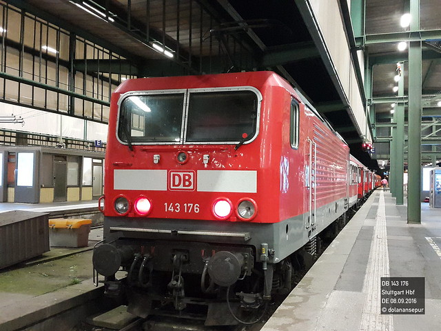 DB 143 176 | Stuttgart Hbf