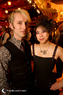 Mike and Christina at the Edwardian Ball 2011