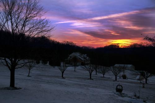 county chris sunset snow photography nikon kaskel maryland carroll technicolor phase d5000