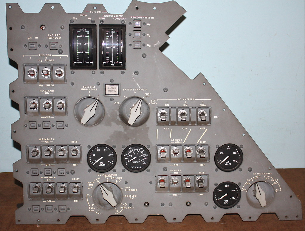 Apollo Command Module Panel