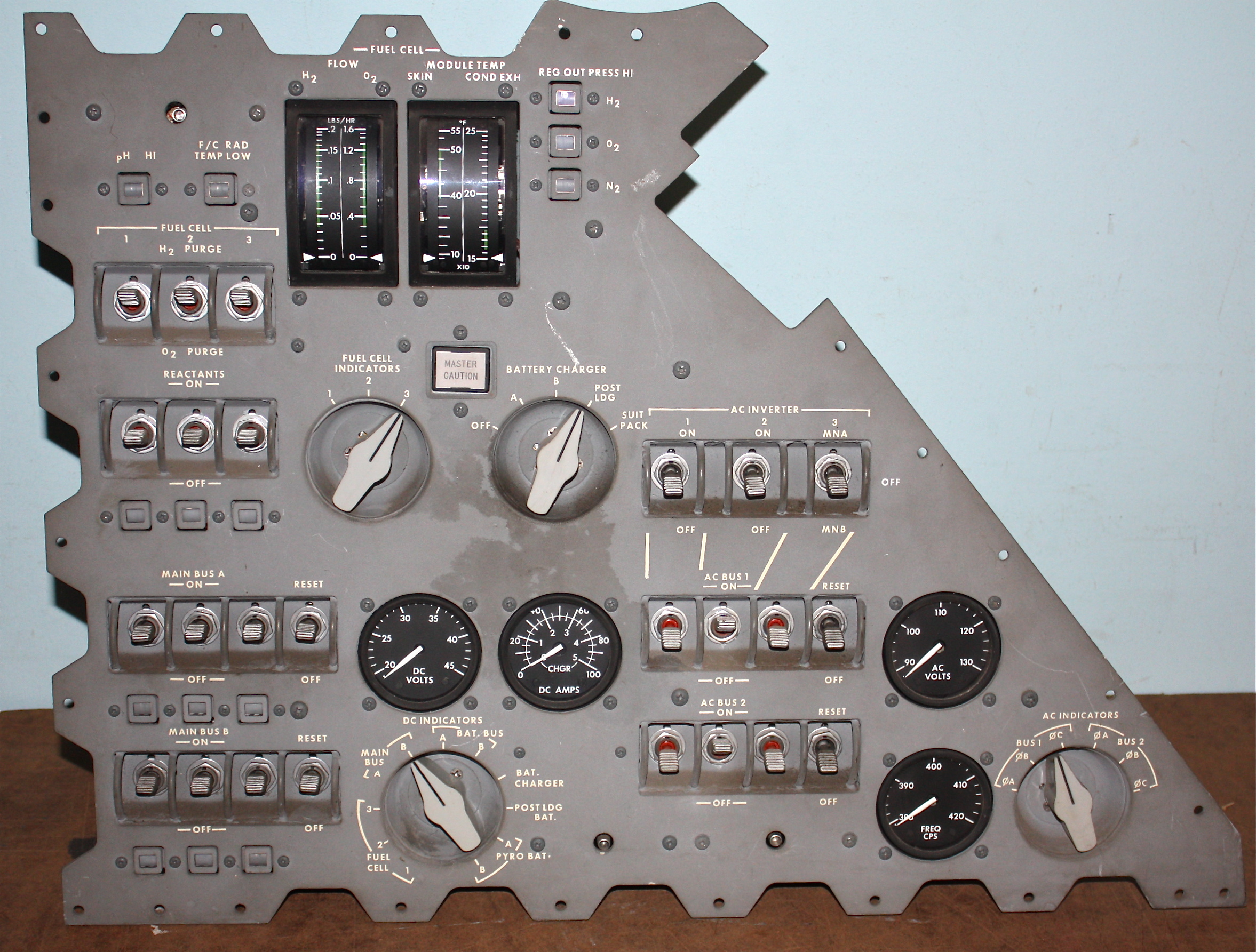 apollo capsule control panel - photo #20