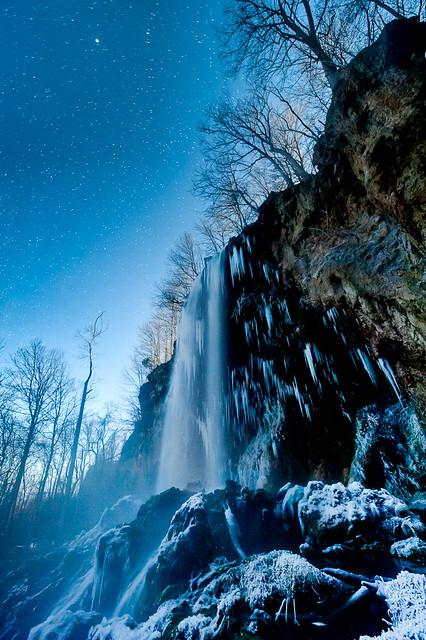 Winter Night Mist