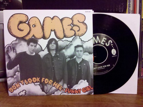 Games - Don't Look For Her 7""