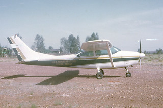 Aerial Mustering at Louisa Downs in 1968