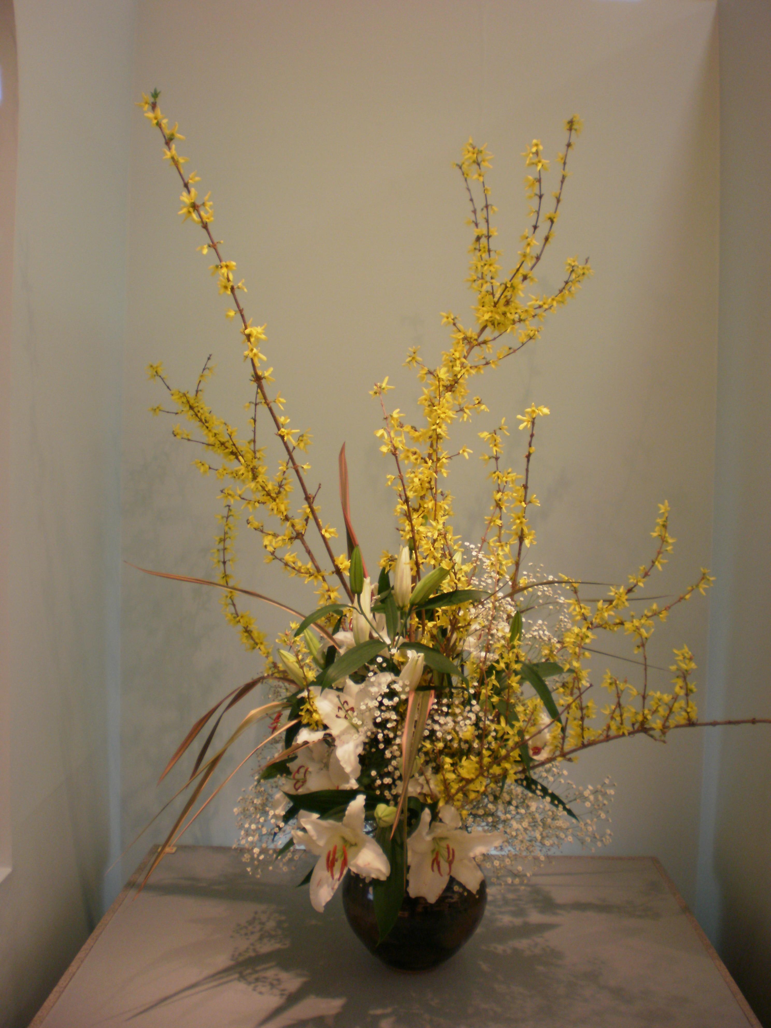 Japanese flower arrangement 33 Ikebana いけばな