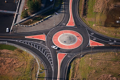 SR 548 Roundabout - Aerial