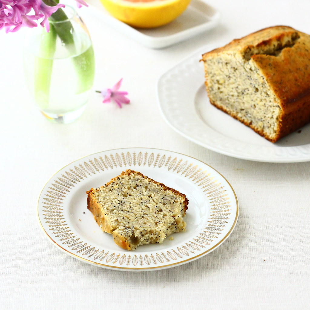 Grapefruit Poppy Seed Bread