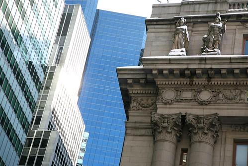 New York City, Manhattan, Lower Manhattan, Financial District, Alexander Hamilton U.S. Custom House, 1901-1907. 1 Bowling Green.