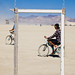 Biking Across the Playa