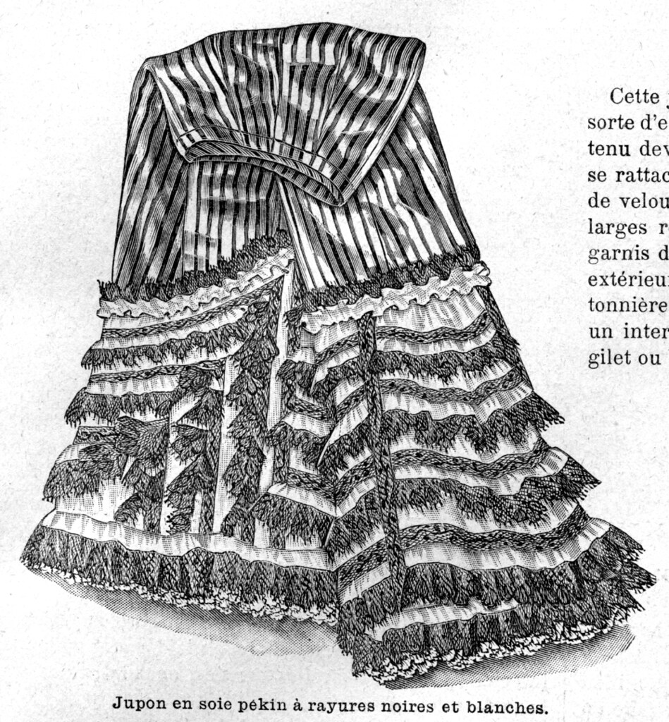 Jupon, 1898
