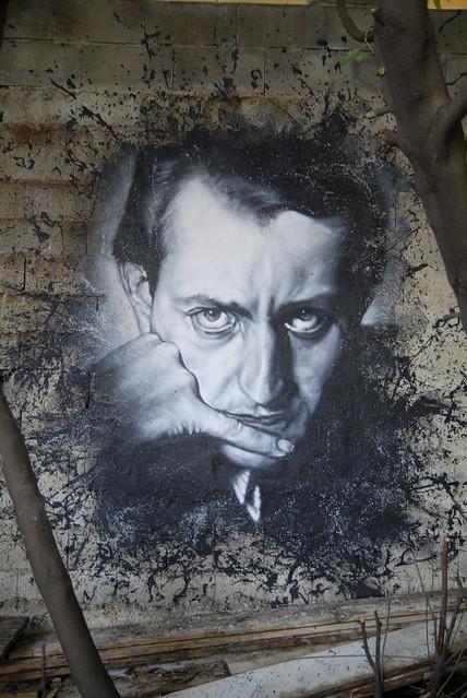André Malraux painted portrait _DDC2996